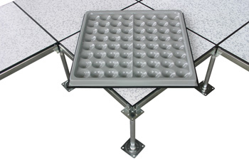 PVC贴面全钢防静电地板